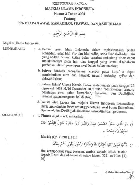 Fatwa MUI 2-2004-a
