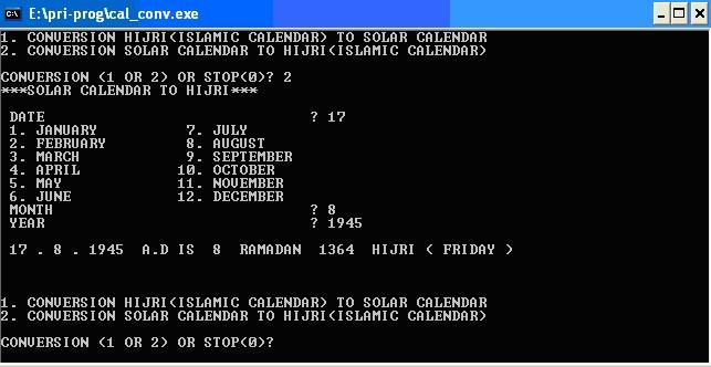 Program Konversi Kalender Masehi Hijriyah Dokumentasi T Djamaluddin Berbagi Ilmu Untuk Pencerahan Dan Inspirasi Perhitungan hari baik ini berdasarkan weton dalam kalender jawa supaya terhindar dari nasib buruk atau sial. program konversi kalender masehi