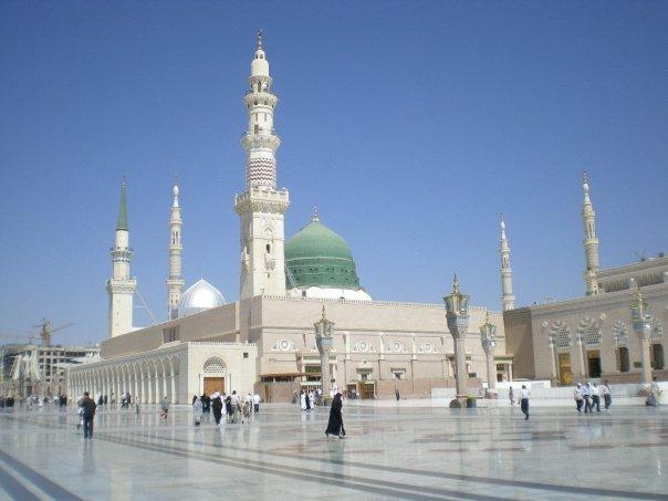 Arah Qiblat Masjid Nabawi Dan Masjid Kobe