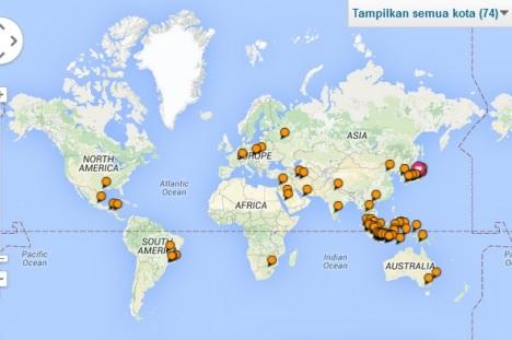 TripAdviser-74 cities