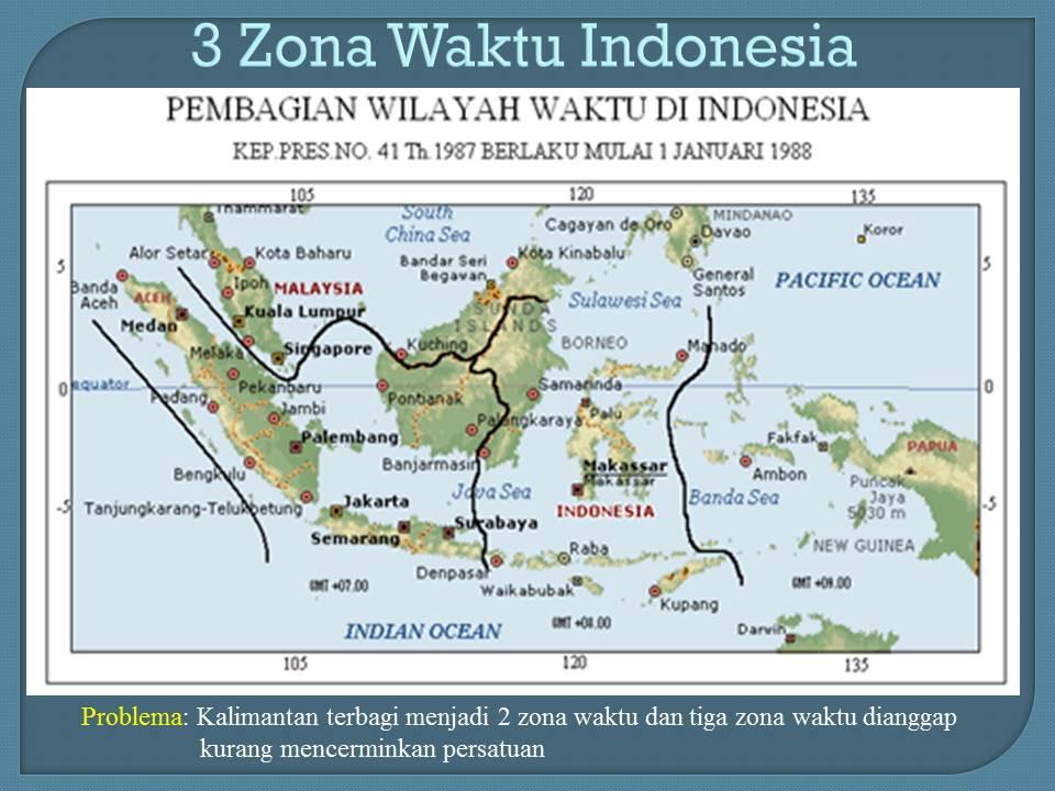 Zona Tunggal Waktu Indonesia Mempersatukan Tetapi Berpotensi Menimbulkan Inefisiensi Dokumentasi T Djamaluddin Berbagi Ilmu Untuk Pencerahan
