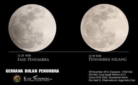 Gerhana Penumbra 28 Nov 2012