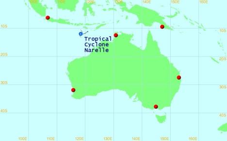 Badai tropis 080113