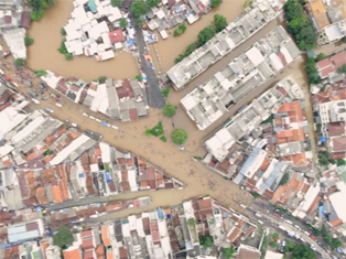 Banjir Jakarta-UAV LAPANUAV