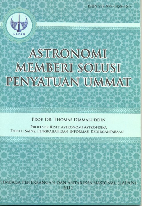 Astronomi Memberi Solusi Penyatuan Ummat