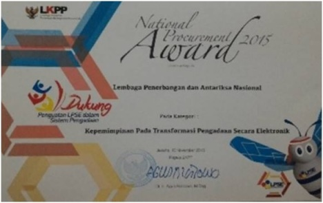 National Procurement Award