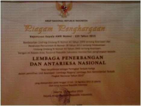 Penghargaan Kearsipan