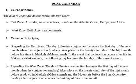 Kongres Kalender Islam Turki 2016-Dual Calendar
