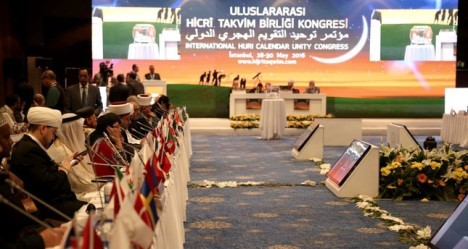 Kongres Kalender Islam Turki 2016