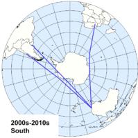 Penerbangan Melintasi Antartika