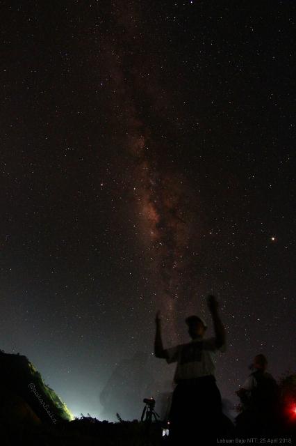 Milky Way - Labuan Bajo-AR Sugeng